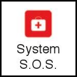 ikona kask rowerowy - system S.O.S.