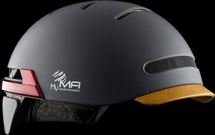 Inteligentny kask MFI E-Road - bluetooth, światła, telefon