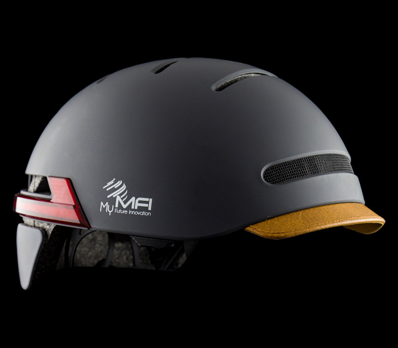 Inteligentny kask rowerowy MFI E-Road